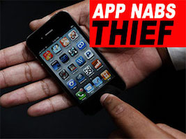 iPhone helped police nab the thief!